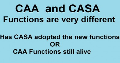 CAA and CASA - Functions are very different