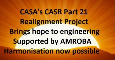 CASA CASR Part 21 Realignment Project