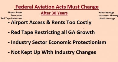 Federal Aviation Acts Changes 6-18